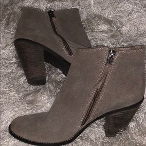 Dolce vita genuine suede booties